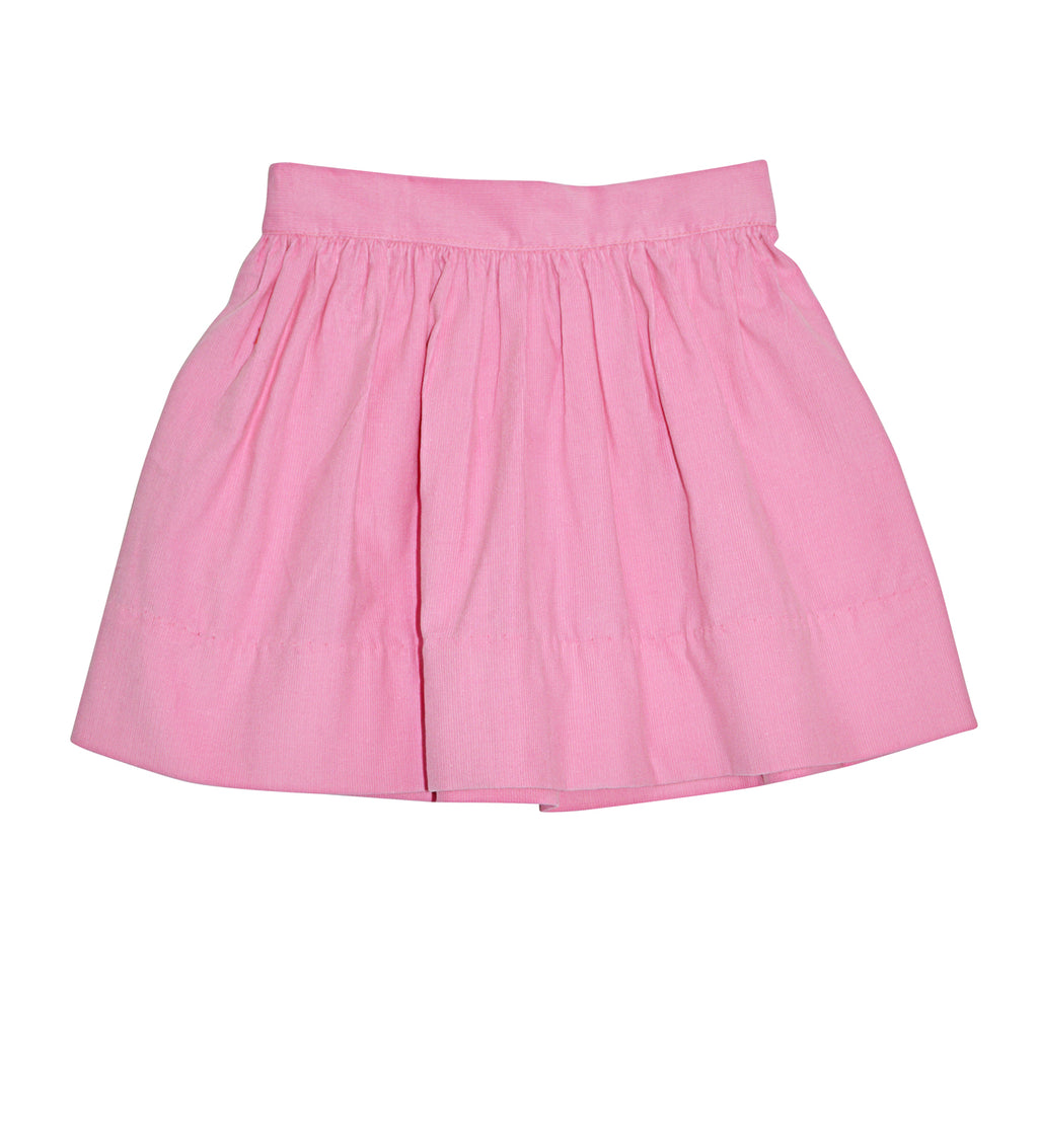 Felicite Pink cord skirt by Marco & Lizzy