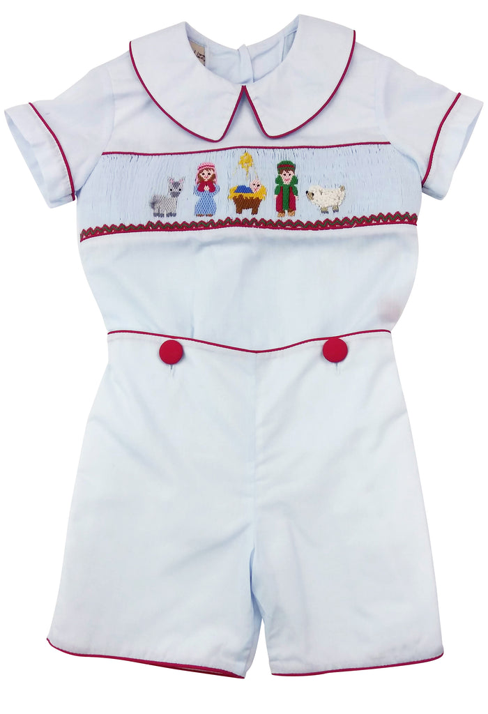 Nativity Boy's Short set