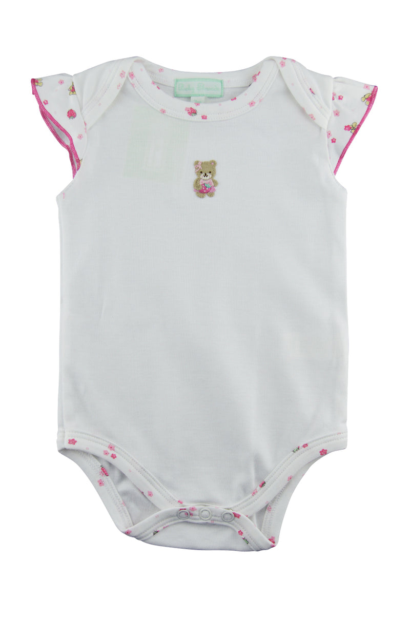 Baby Girl's Berry Bear Onesie Set - Little Threads Inc. Children's Clothing