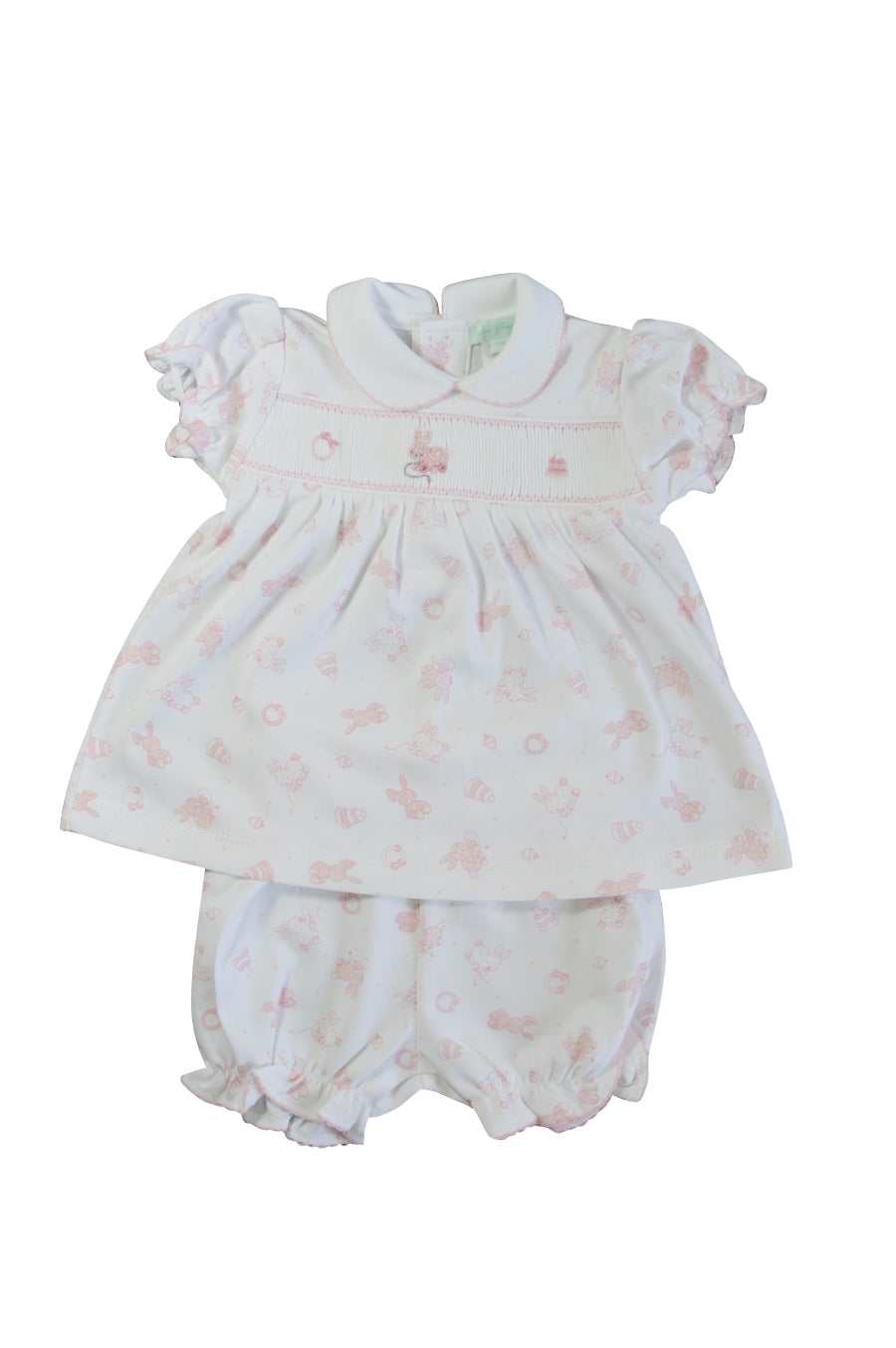 Baby Girl's Toy Bunnies Dress - Little Threads Inc. Children's Clothing