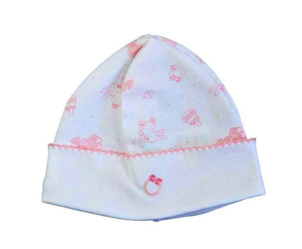Toy Bunnies Girl's Hat - Little Threads Inc. Children's Clothing
