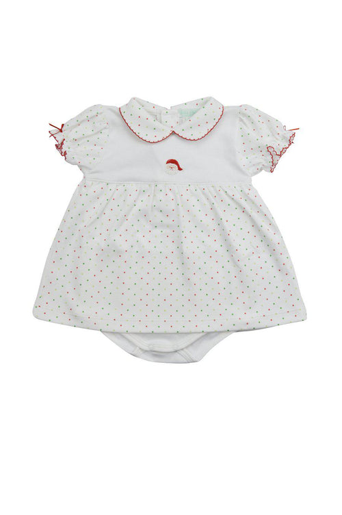 Girl's Santa Dress Set