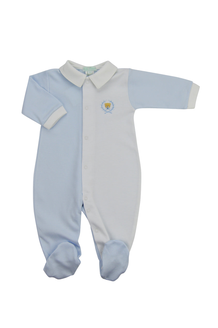 Teddy Bear Boy's Footie - Little Threads Inc. Children's Clothing