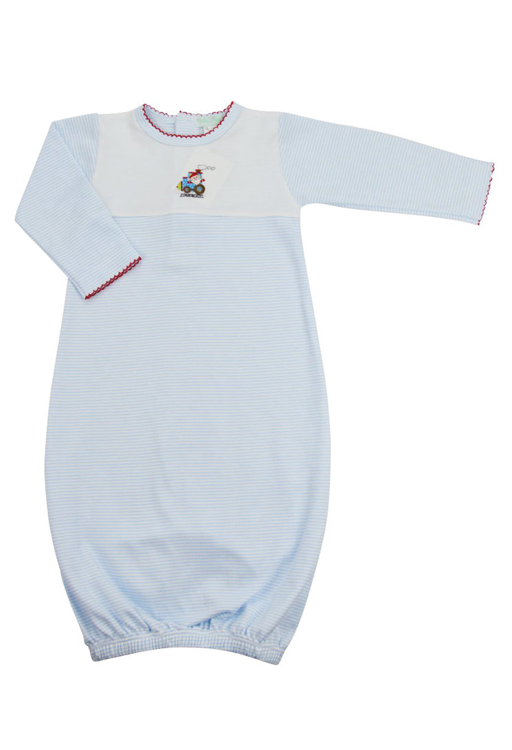 Santa Train Daygown - Little Threads Inc. Children's Clothing