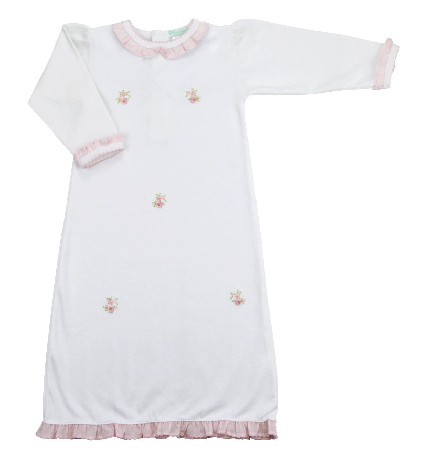Baby Girl's Rose Bouquets Daygown - Little Threads Inc. Children's Clothing