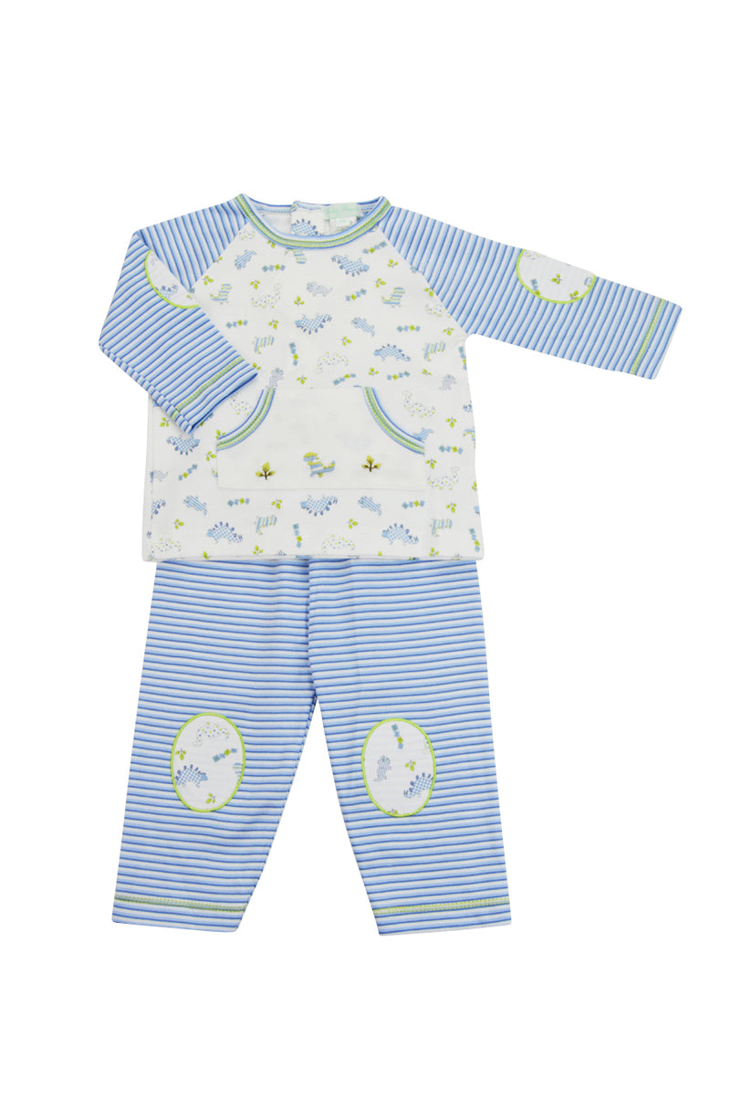 Baby Boy's Dino Print Pants Set - Little Threads Inc. Children's Clothing