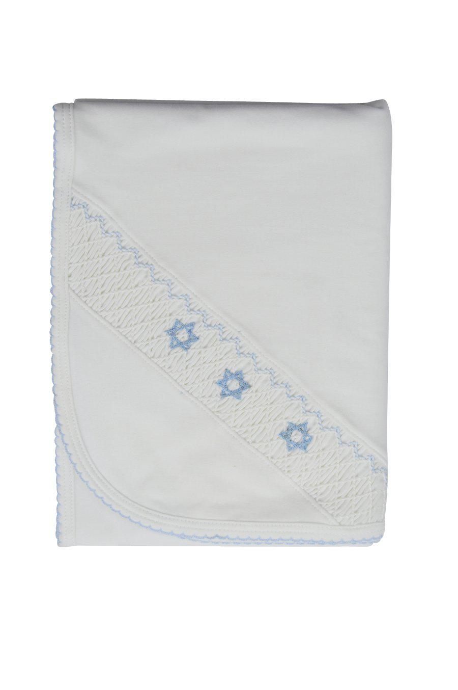 Briss Blanket (Star of David) Banket - Little Threads Inc. Children's Clothing