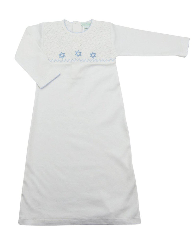 Bris Day Gown (Star of David) - Little Threads Inc. Children's Clothing