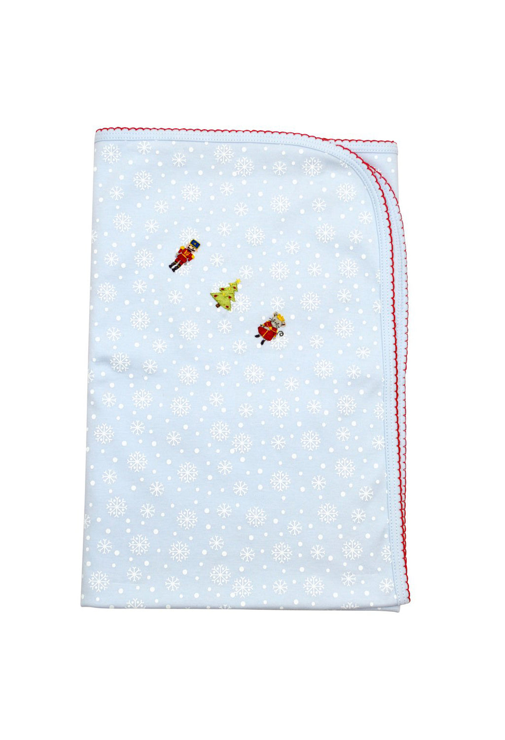 Baby Boy's Snowflake Nutcracker Blanket - Little Threads Inc. Children's Clothing