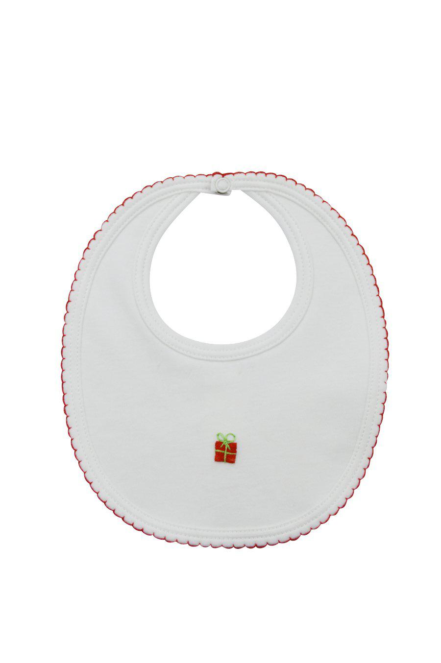 Christmas Tree Bib - Little Threads Inc. Children's Clothing
