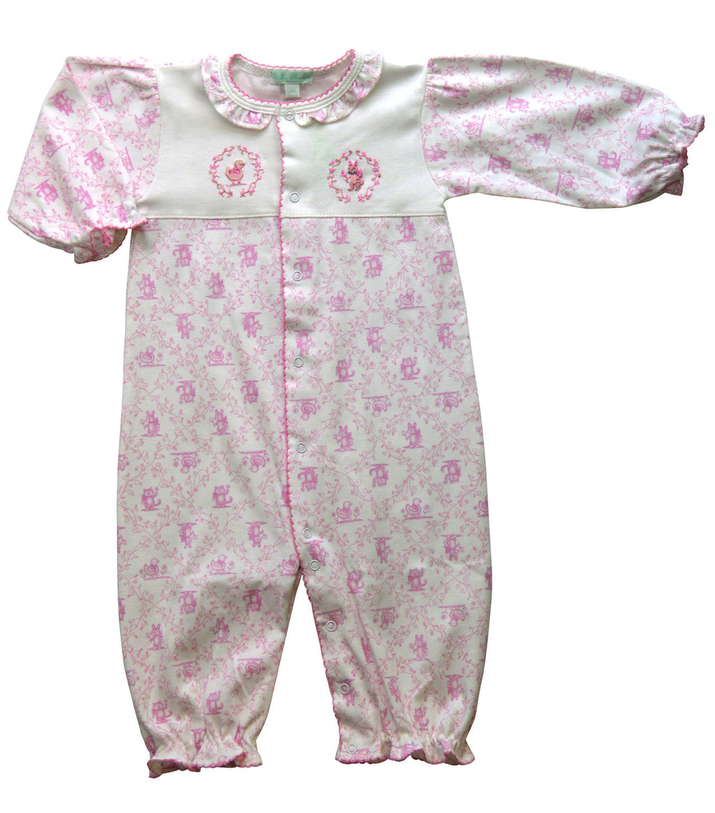 Toile Baby's Girl Converter - Little Threads Inc. Children's Clothing