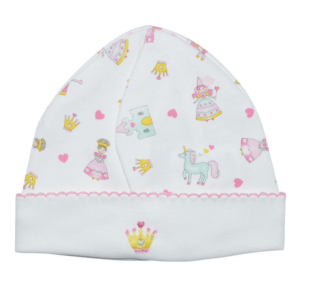 Princess Pima cotton baby hat - Little Threads Inc. Children's Clothing