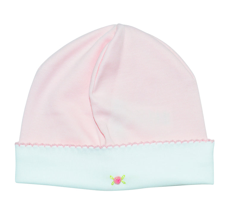 Pink  Baby Gil's Hat - Little Threads Inc. Children's Clothing