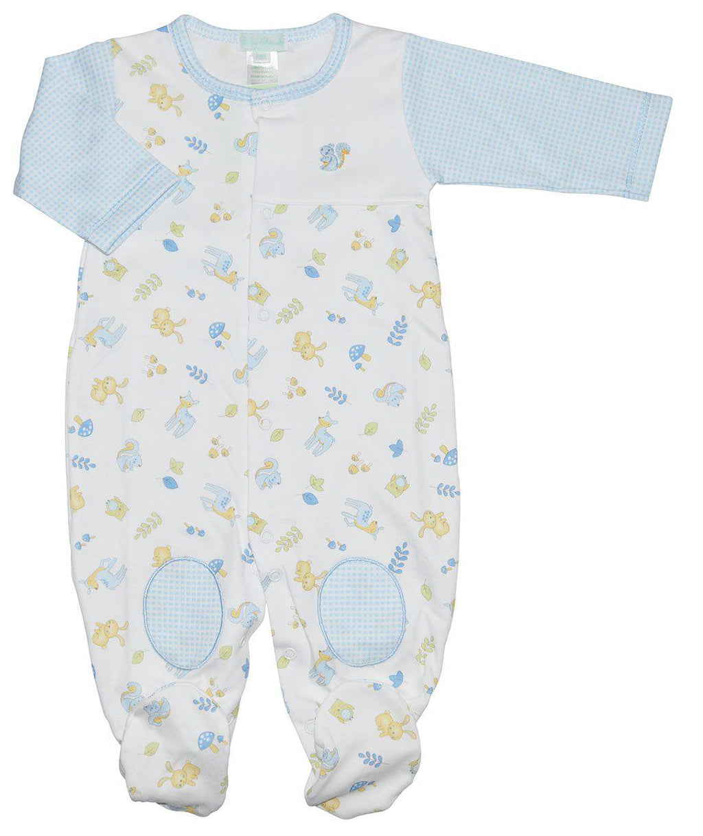 Boys Forest Footie - Little Threads Inc. Children's Clothing