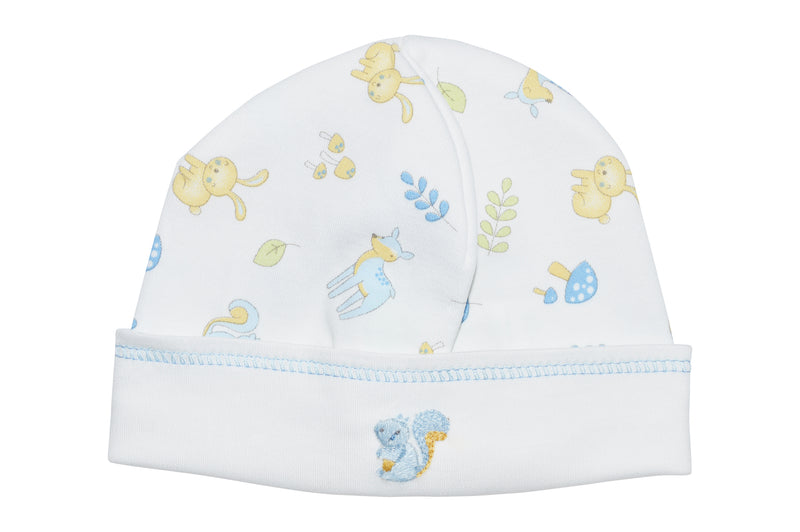 Baby Boy's Animal Forest Print Hat - Little Threads Inc. Children's Clothing