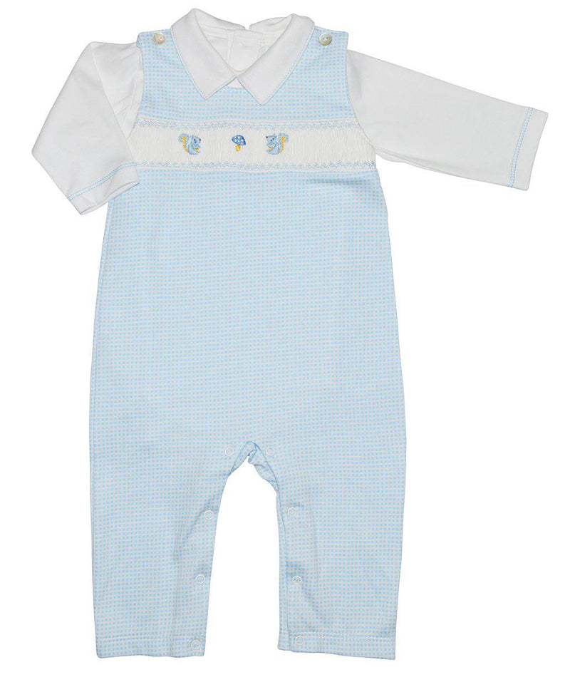 Boys Forest Overall Set - Little Threads Inc. Children's Clothing
