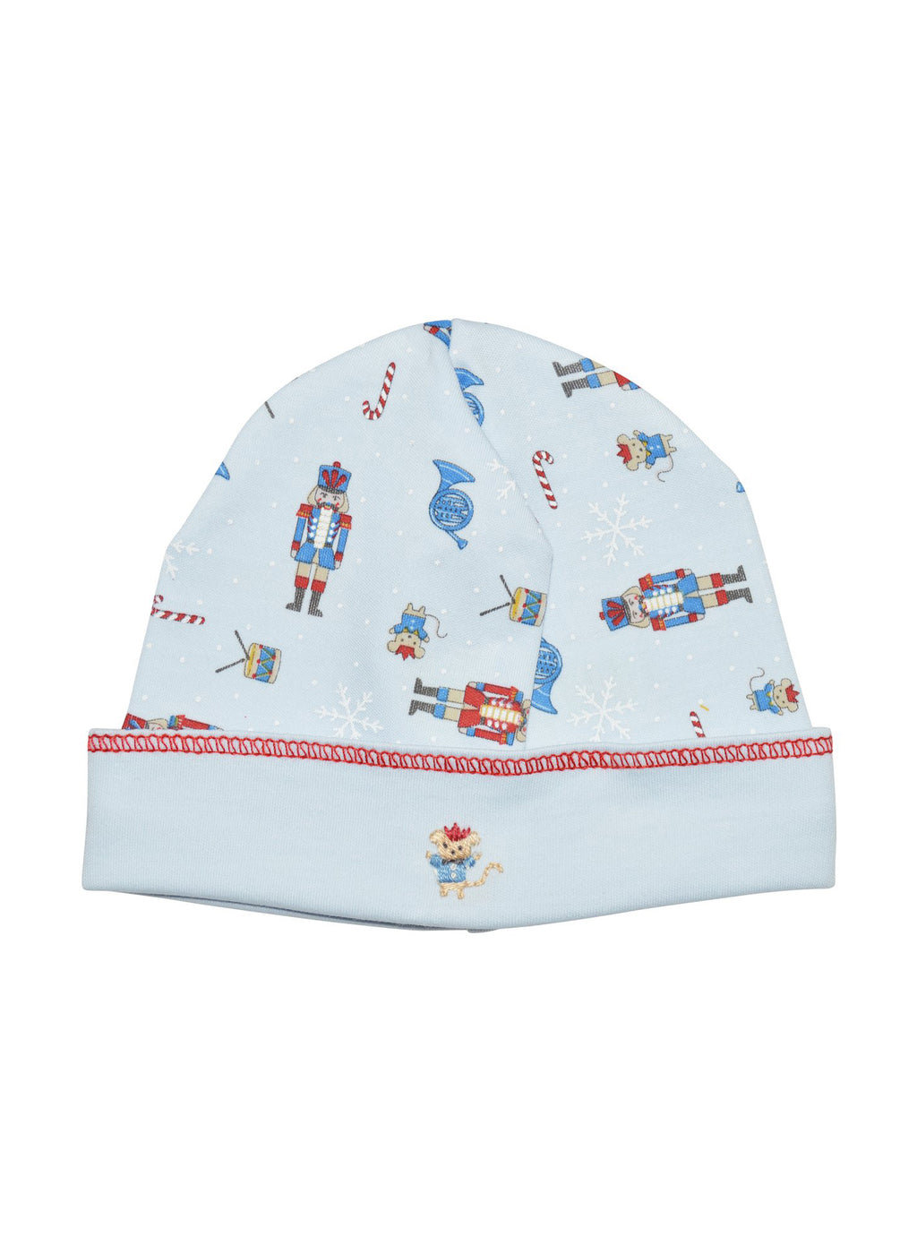 Baby Boy's Blue Christmas Nutcracker Hat - Little Threads Inc. Children's Clothing