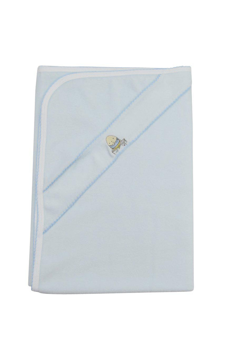 Humpty Dumpty Boys Velour Blanket - Little Threads Inc. Children's Clothing