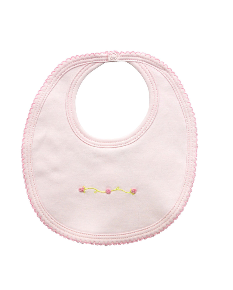 Rose buds Baby Girl Bib - Little Threads Inc. Children's Clothing