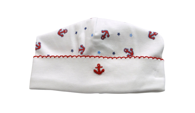 Baby Boy's Anchors Hat - Little Threads Inc. Children's Clothing
