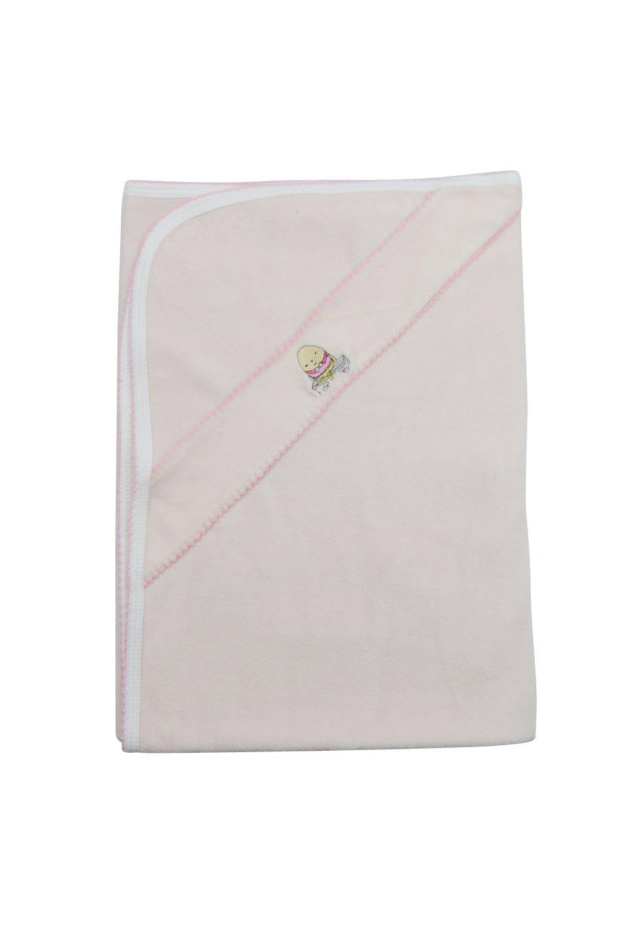 Humpty Dumpty Girls Velour Blanket