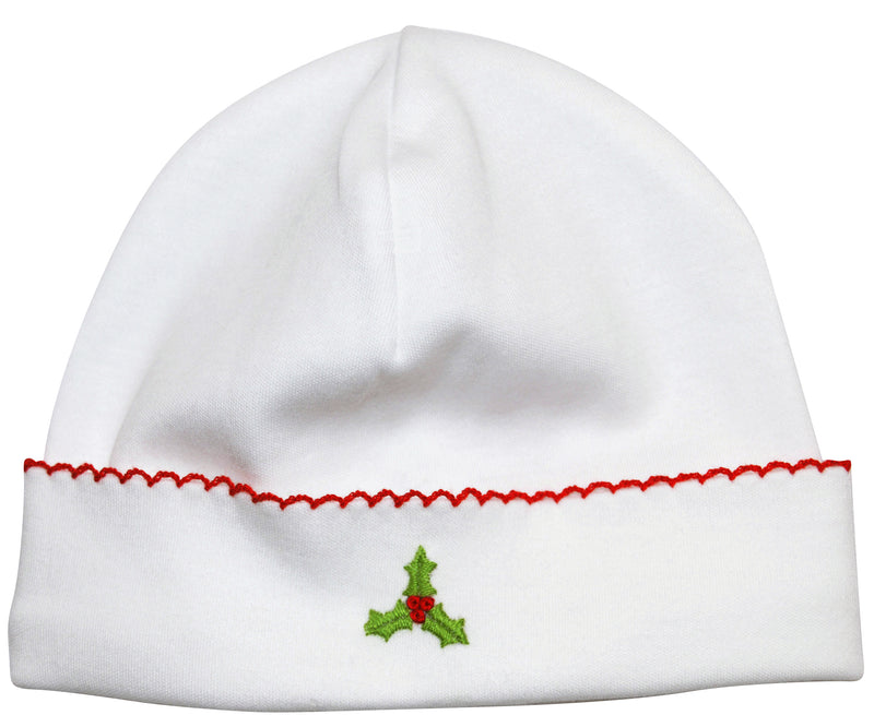 Baby Girl's Christmas Hollie Hat - Little Threads Inc. Children's Clothing