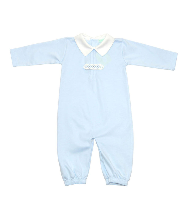 Baby Boy's Blue Diamond Converter - Little Threads Inc. Children's Clothing