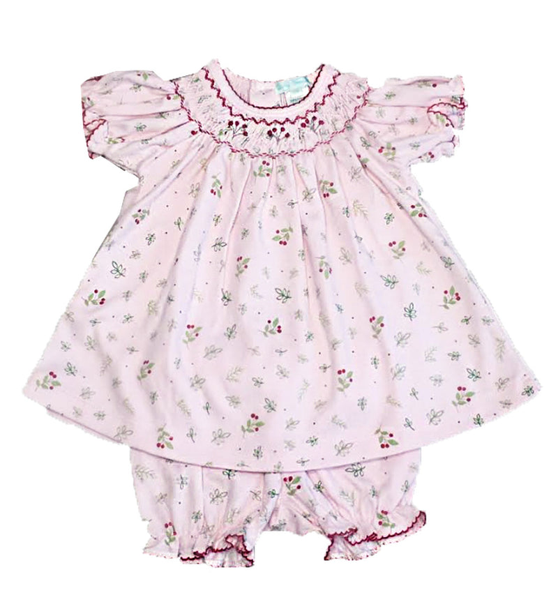 Baby Girl's Sweet Berries Bishop Dress - Little Threads Inc. Children's Clothing