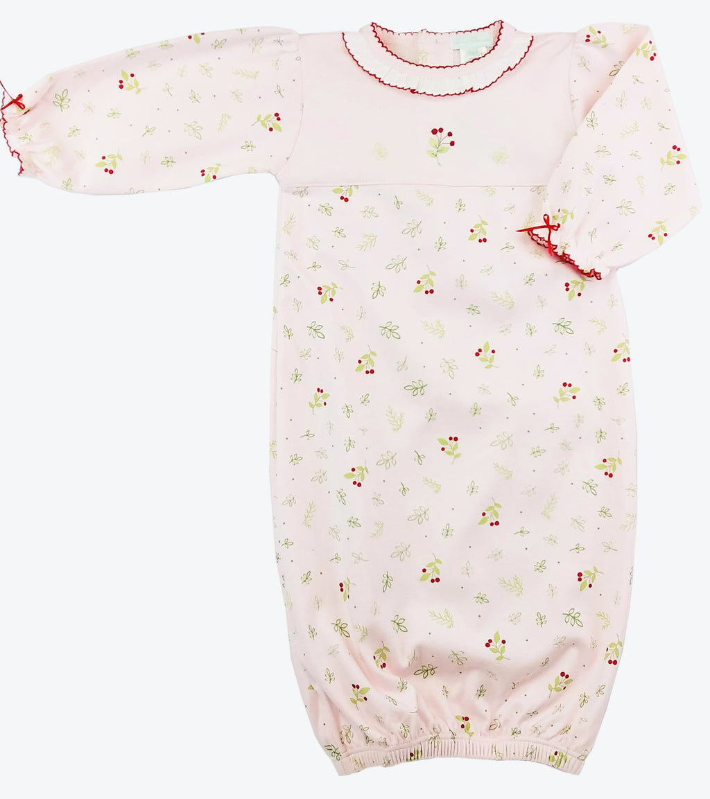Baby Girl's Pink Berries Daygown - Little Threads Inc. Children's Clothing