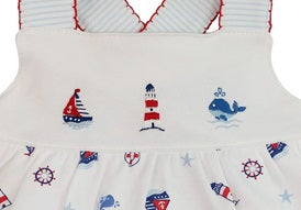 Nautical baby Girls Sundress