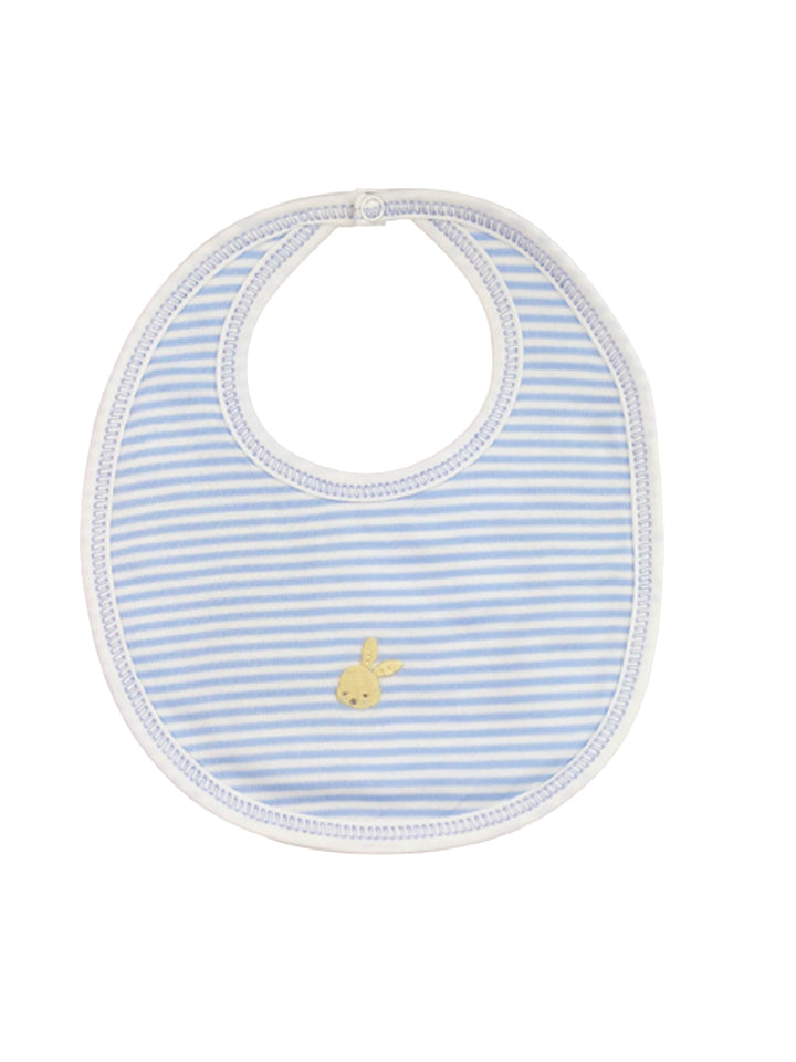 Baby Boy's Striped Bunny Bib - Little Threads Inc. Children's Clothing