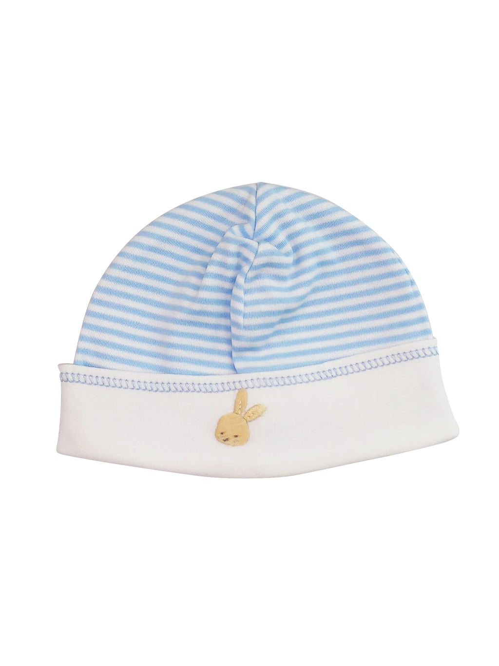 Baby Boy's Blue Striped Bunny Hat - Little Threads Inc. Children's Clothing