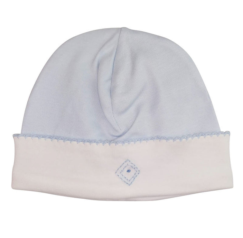 Baby Boy's Blue Diamond Hat - Little Threads Inc. Children's Clothing