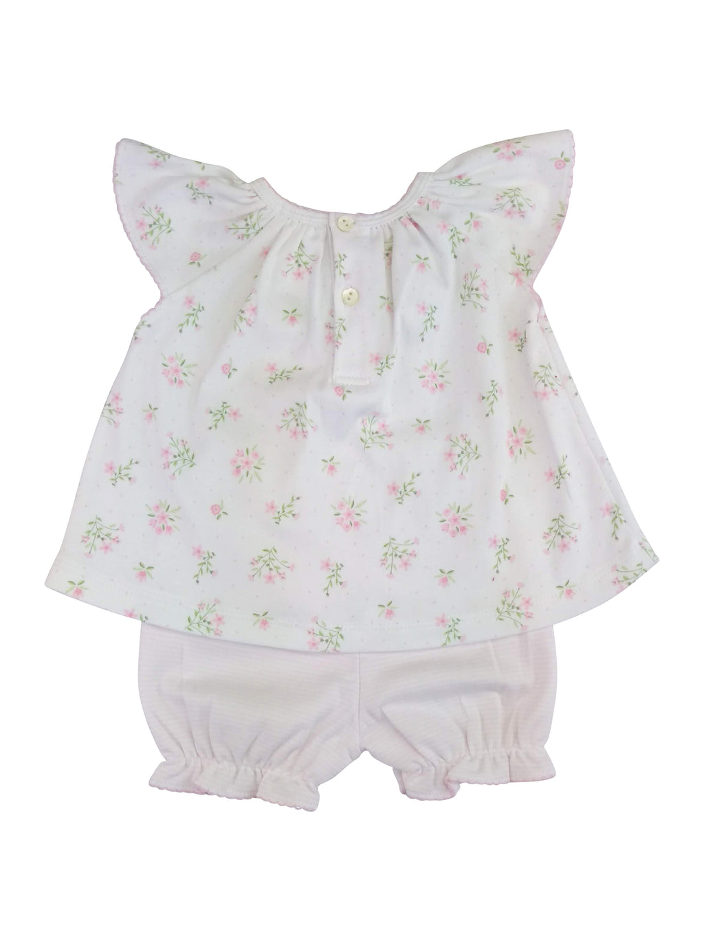 Baby Girl's Flower Print Dress Set - Little Threads Inc. Children's Clothing