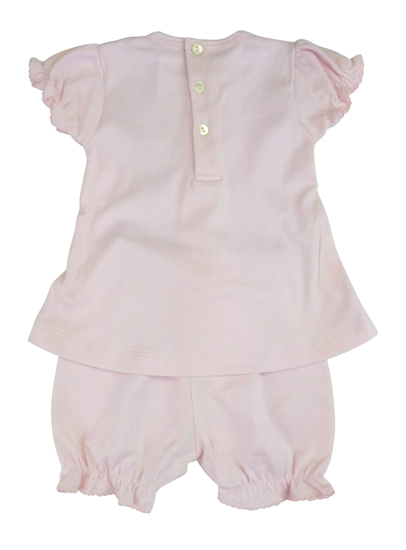 Baby Girl's Pink Bows Dress Set - Little Threads Inc. Children's Clothing
