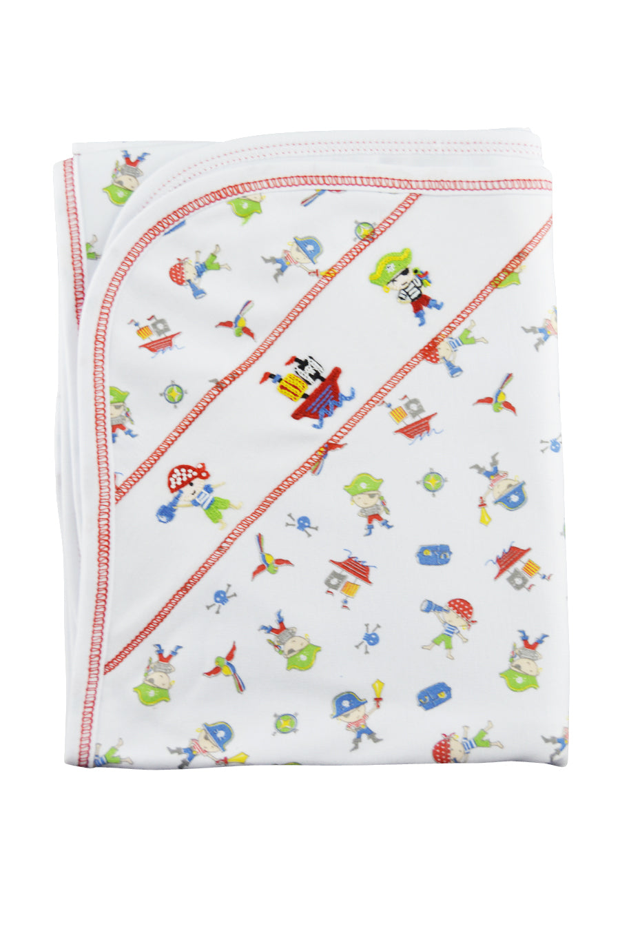 Baby Boy's Pirate Print Blanket - Little Threads Inc. Children's Clothing
