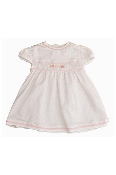 Ribbon Roses Dress and Bloomers - Little Threads Inc. Children's Clothing