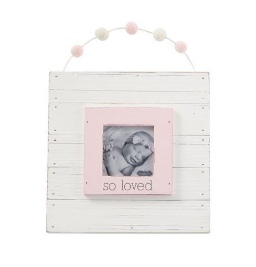 Garland Baby Girl Frame - Little Threads Inc. Children's Clothing