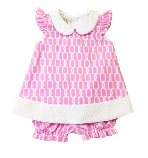 Brooke Baby popover dress