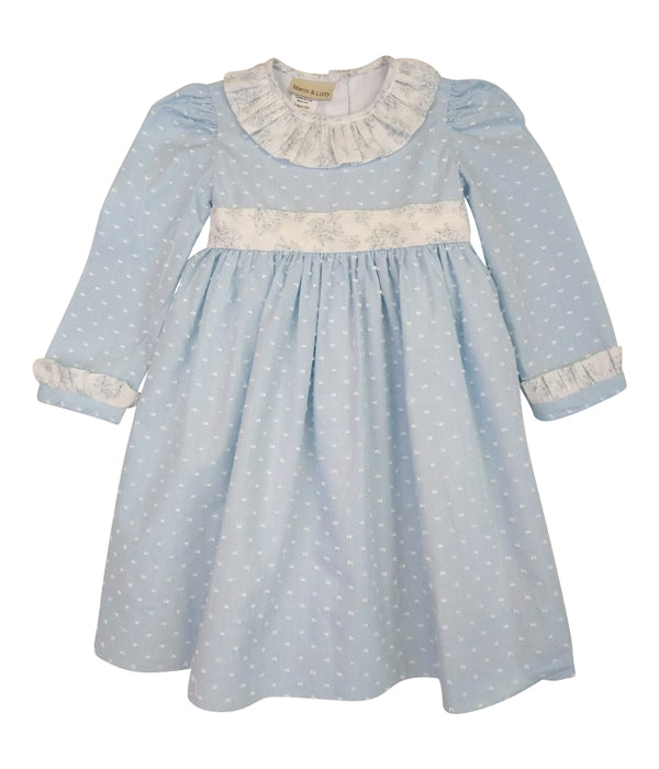 Madison Blue Plumeti Classic Dress - Little Threads Inc. Children's Clothing