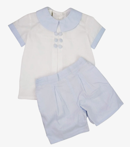 Verona boy's short set - Little Threads Inc. Children's Clothing