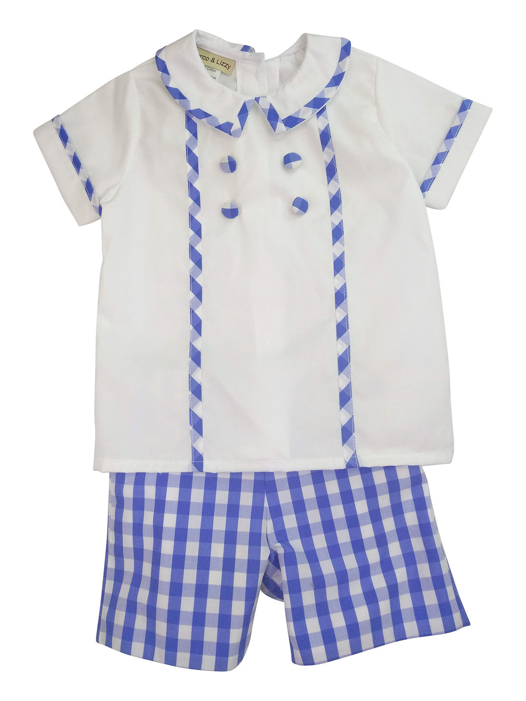 Andy Boy's Short Set - Little Threads Inc. Children's Clothing
