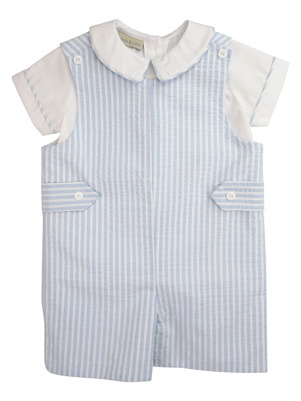 Lucas Overall Boy's Overall Set - Little Threads Inc. Children's Clothing