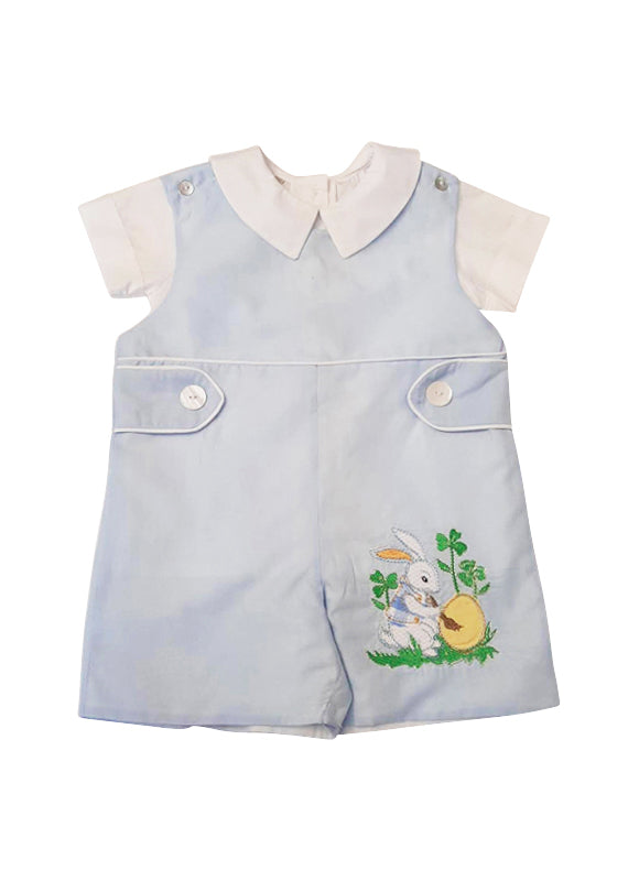 Easter bunny Boy's Overall Set - Little Threads Inc. Children's Clothing