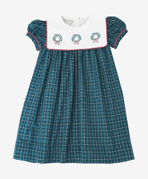 Wreath  float  Girl's Dress - Little Threads Inc. Children's Clothing
