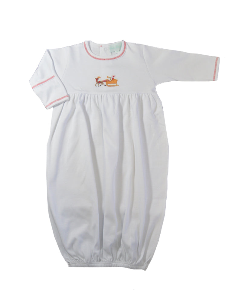 Baby Boy's Santa's Sleigh DayGown - Little Threads Inc. Children's Clothing