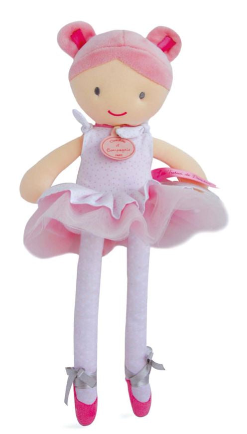 Ballerina Long legs stuff doll - Little Threads Inc. Children's Clothing