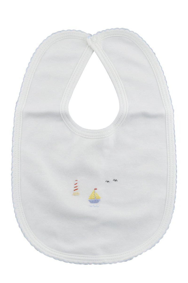 Sailboat Bib - Little Threads Inc. Children's Clothing