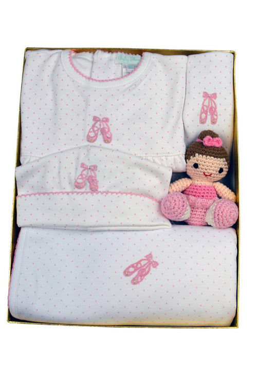 Ballerina Gift Set with Rattle