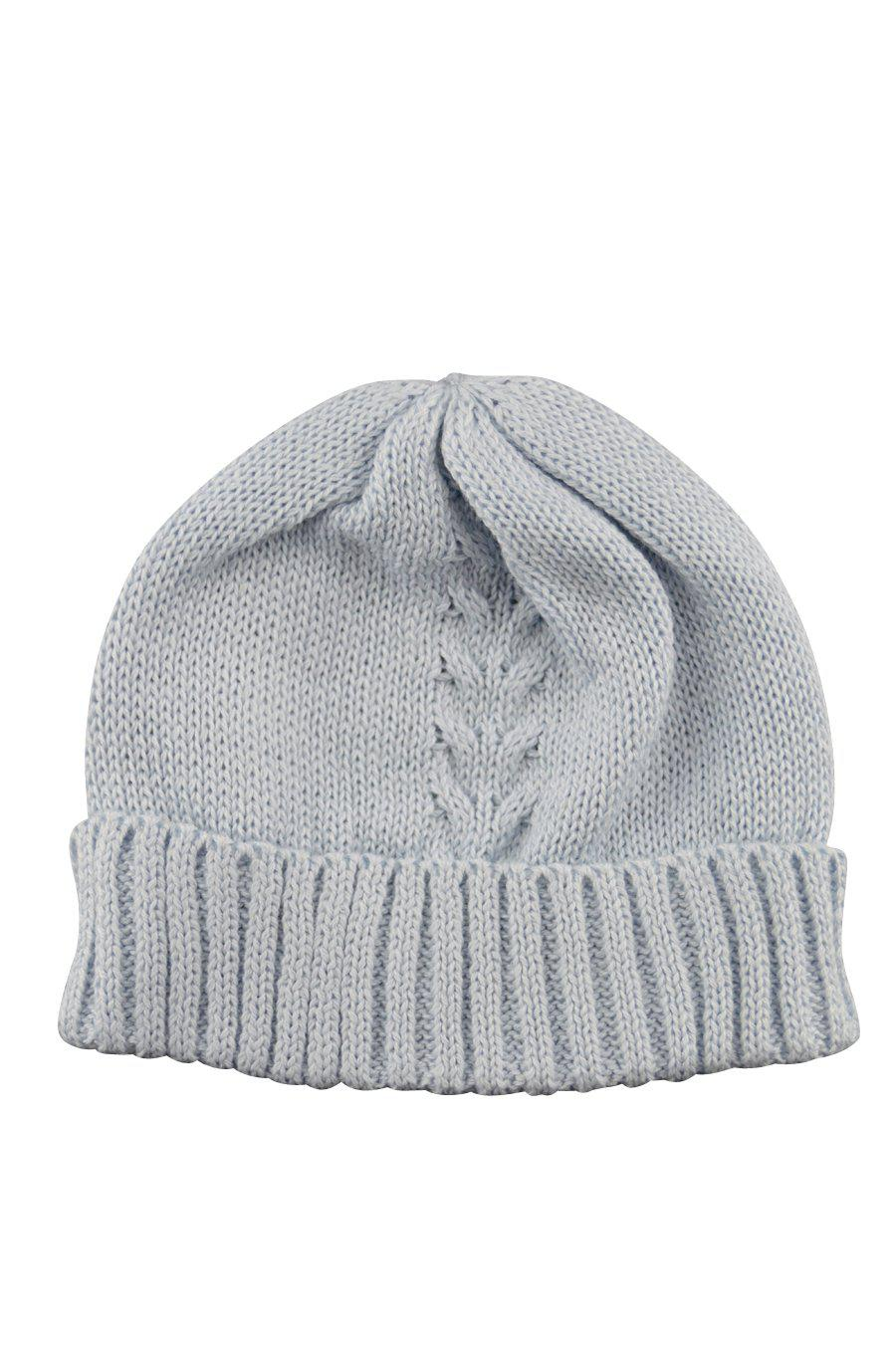 Blue Knitted Hat - Little Threads Inc. Children's Clothing